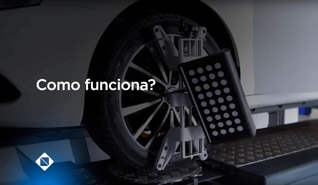 Como funciona um Alinhador 3D?