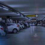 duplicadores de vagas - na imagem uma garagem de prédio com diversas vagas e carros