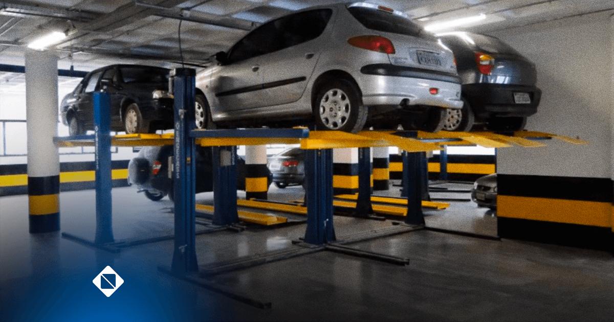 Duplicador de Vagas para garagens