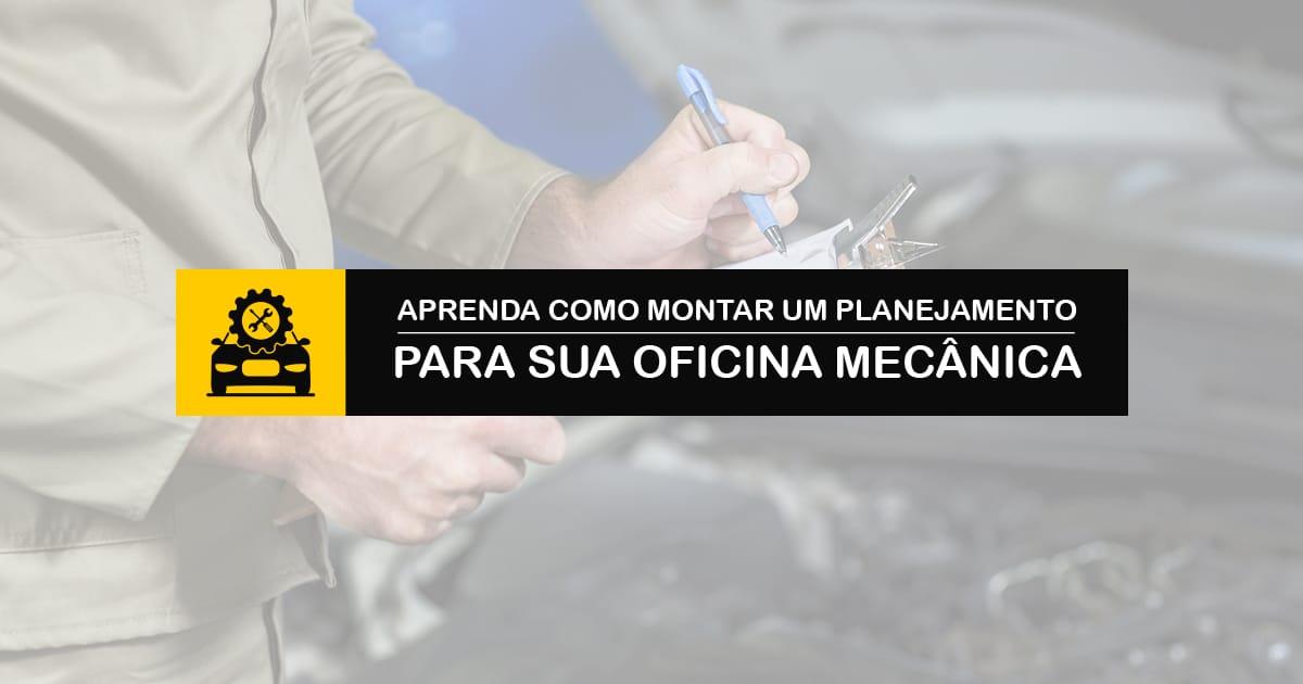 Planejamento para oficina mecânica