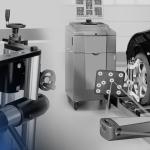 alinhador de rodas comum e alinhador digital 3d