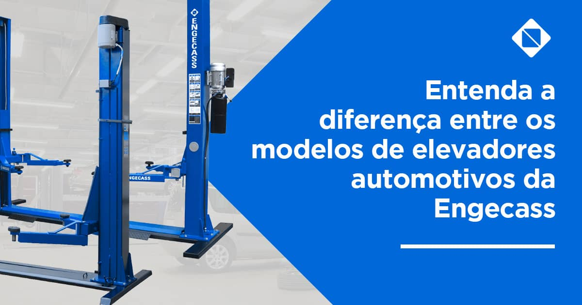 Elevador automotivo eletromecânico, hidráulico e pantográfico: entenda a diferença de cada um
