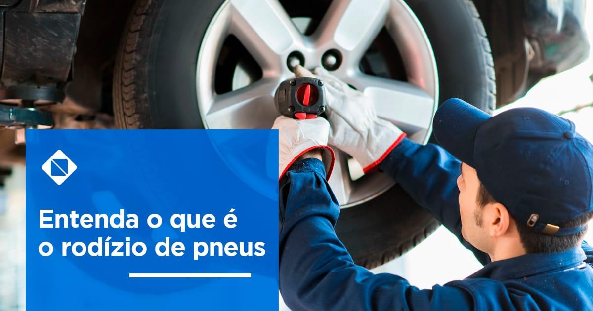 Entenda o que é o rodízio de pneus