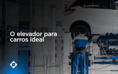 O elevador para carros ideal para sua loja de automóveis