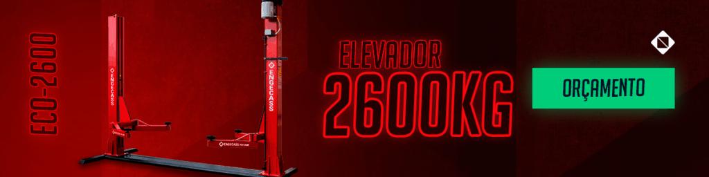 Peça seu orçamento AQUI do nosso Elevador Automotivo 2600kg com Lubrificação automática a óleo | Engecass