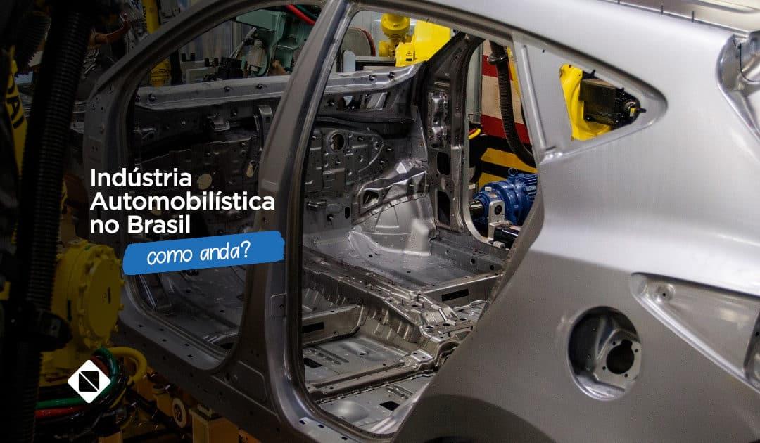 Como anda a indústria automobilística no Brasil para os autocenters