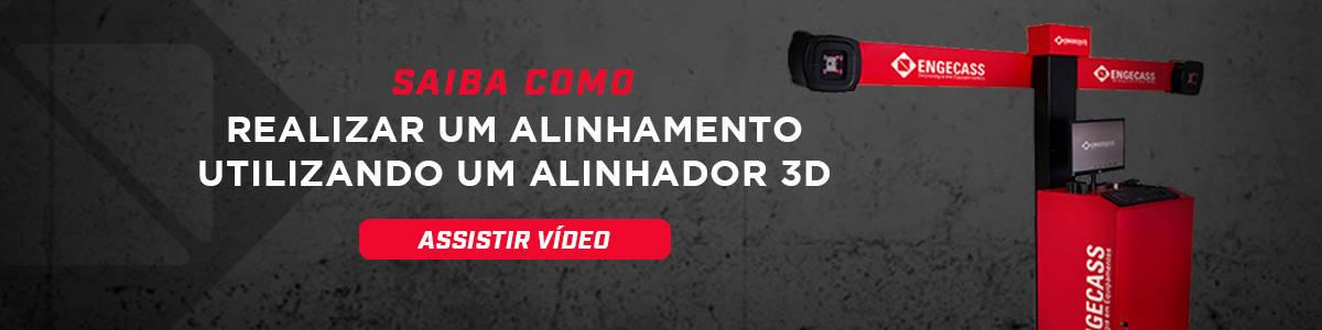 Vídeo alinhamento de direção e rodas 3D - Engecass