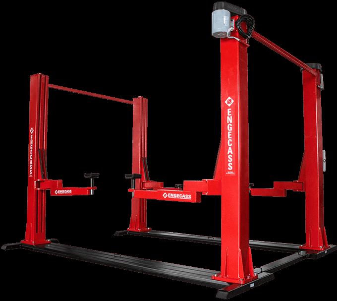 Elevador automotivo 4 colunas 4000kg/5000kg | Engecass