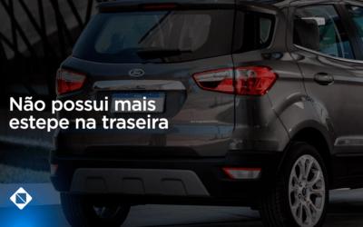 Setor automotivo: Ford EcoSport não possui mais estepe na traseira em 2019