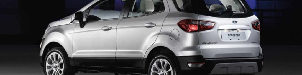 Setor automotivo:  Ford EcoSport sem estepe na traseira