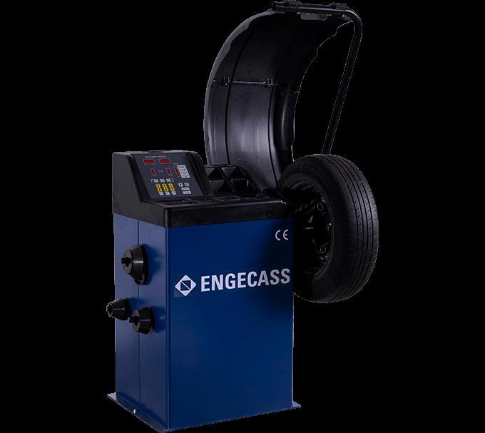 Balanceadora de Rodas Computadorizada / Motorizada Automática BAL430 | Engecass