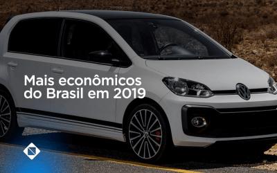 Conheça os carros mais econômicos do Brasil em 2019