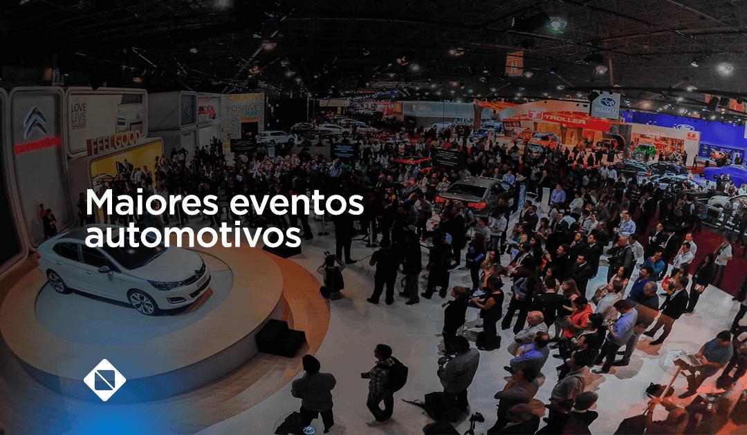 Conheça as maiores feiras automotivas do Brasil e do mundo