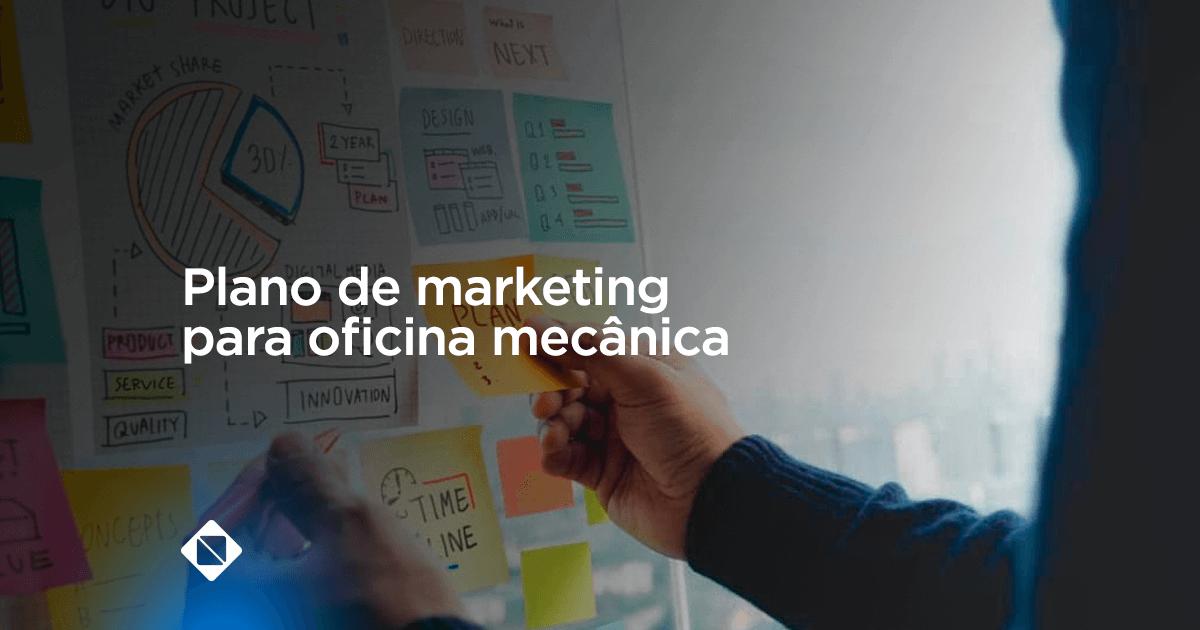 Plano de marketing para oficina mecânica