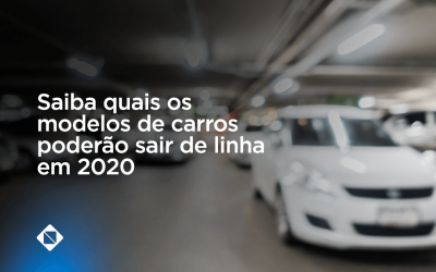 Saiba quais os modelos de carros poderão sair de linha em 2020