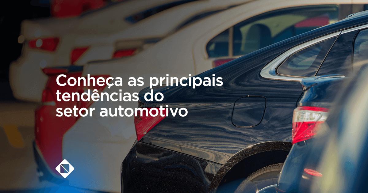 principais tendências do setor automotivo