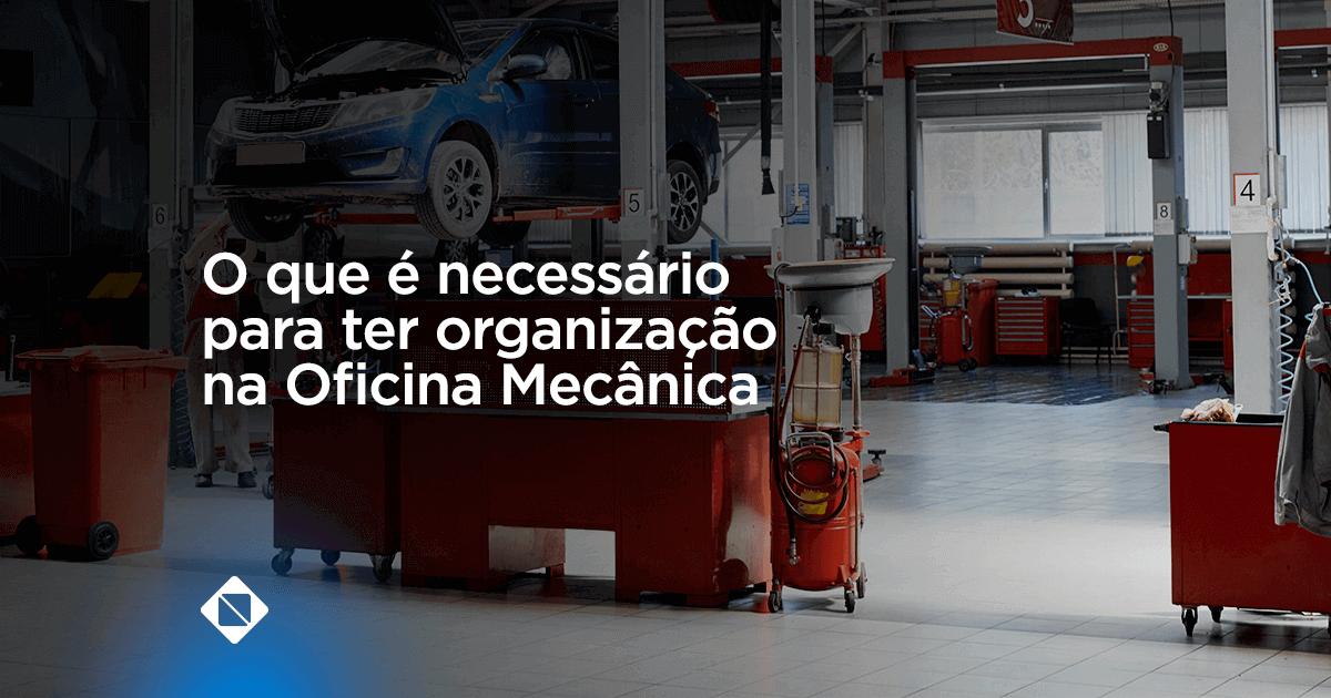 Oficina mecânica e organização