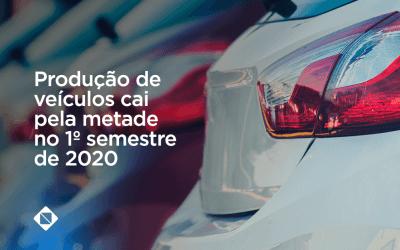Produção de veículos cai pela metade no 1º semestre de 2020