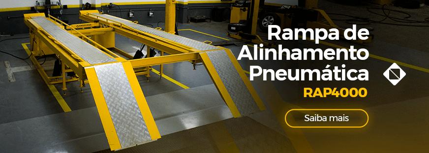 Rampa de Alinhamento Pneumática RAP4000 | Saiba mais | Engecass