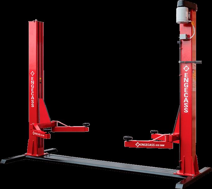 Elevador automotivo ECO 2600 kg | Engecass Automotivo