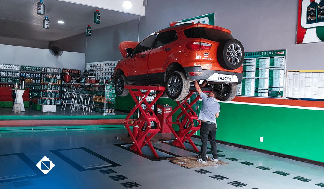 Elevador automotivo pantográfico: Como otimizar espaços em sua oficina