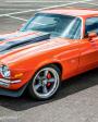 customização de carro - na imagem um carro na cor laranja customizado